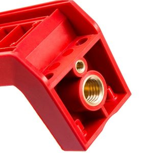 injection molding with cnc machining insert